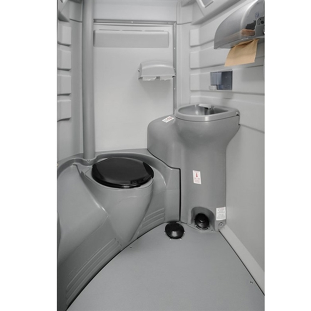 portable toilet with sink 14028