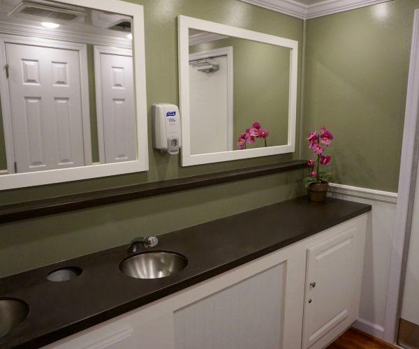 Medium Elegant Restroom Trailer Rentals DE