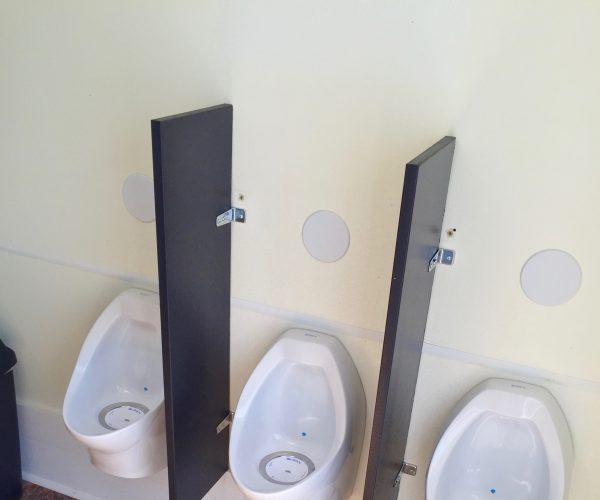 Medium Restroom Trailer Rentals DE - male inside 3